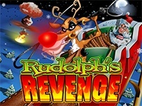 Rudolph's Revenge with game logo
