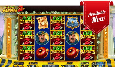 Cash Bandits 2 Slot auf Golden Euro