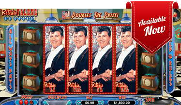 Ritchie Valens La Bamba at Golden Euro Casino